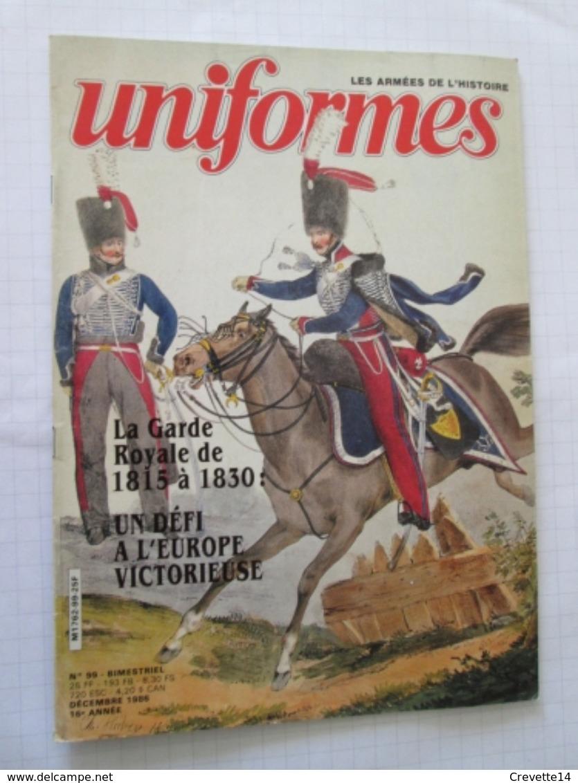 GAZU Revue Uniformologie Militaria GAZETTE DES UNIFORMES N°99   , Sommaire En Photo 2 , Format A4 ,valait Quand Même 30 - Uniforms
