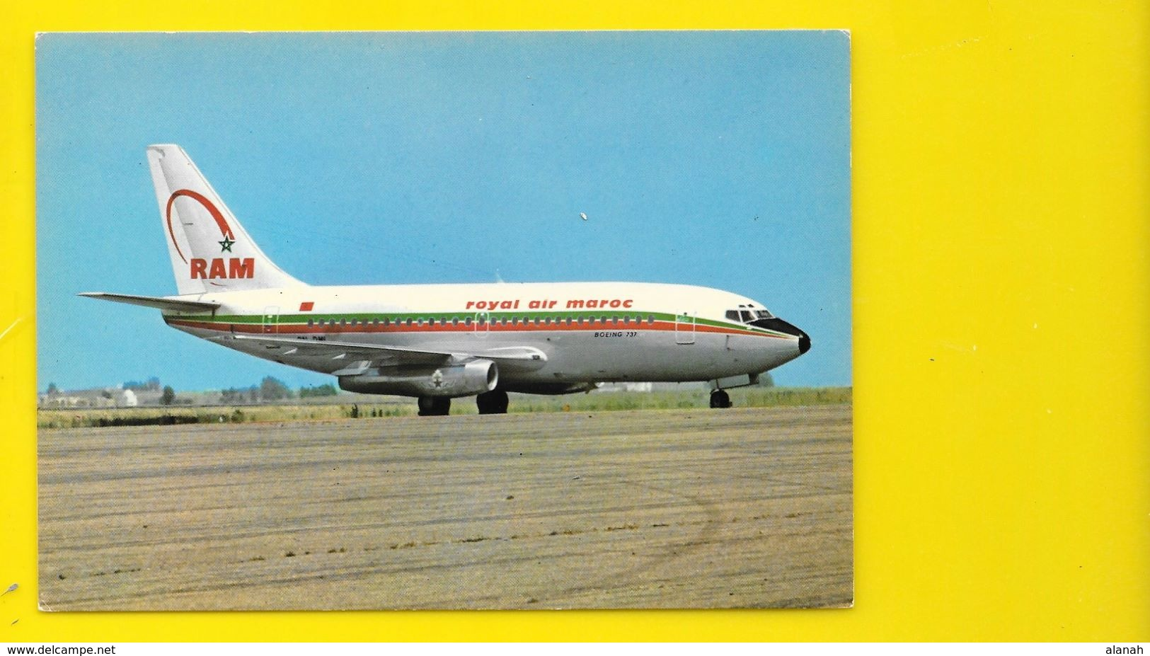 Boeing 737 De La Royal Air Maroc - 1946-....: Modern Era