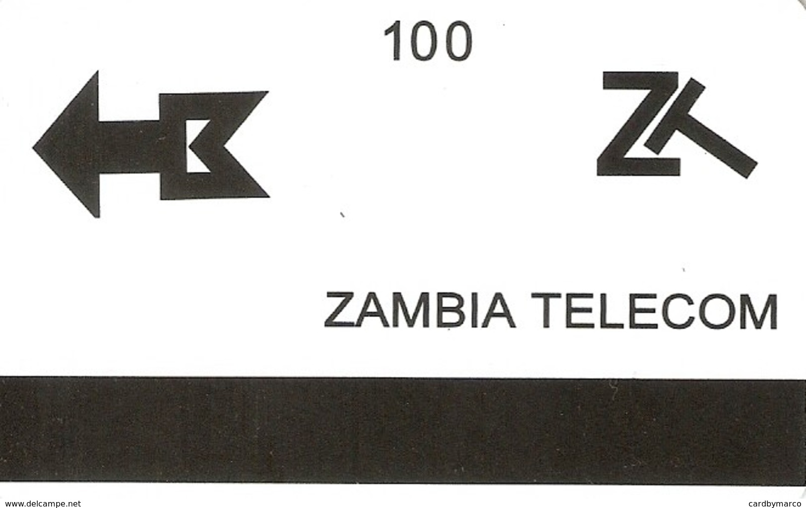 *ZAMBIA* - Scheda Usata - Zambia