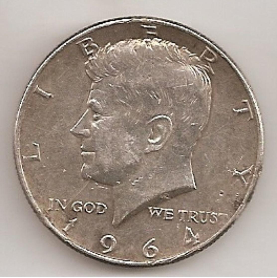 USA  DEMI DOLLAR KENNEDY 1964 EN ARGENT - 1964-…: Kennedy