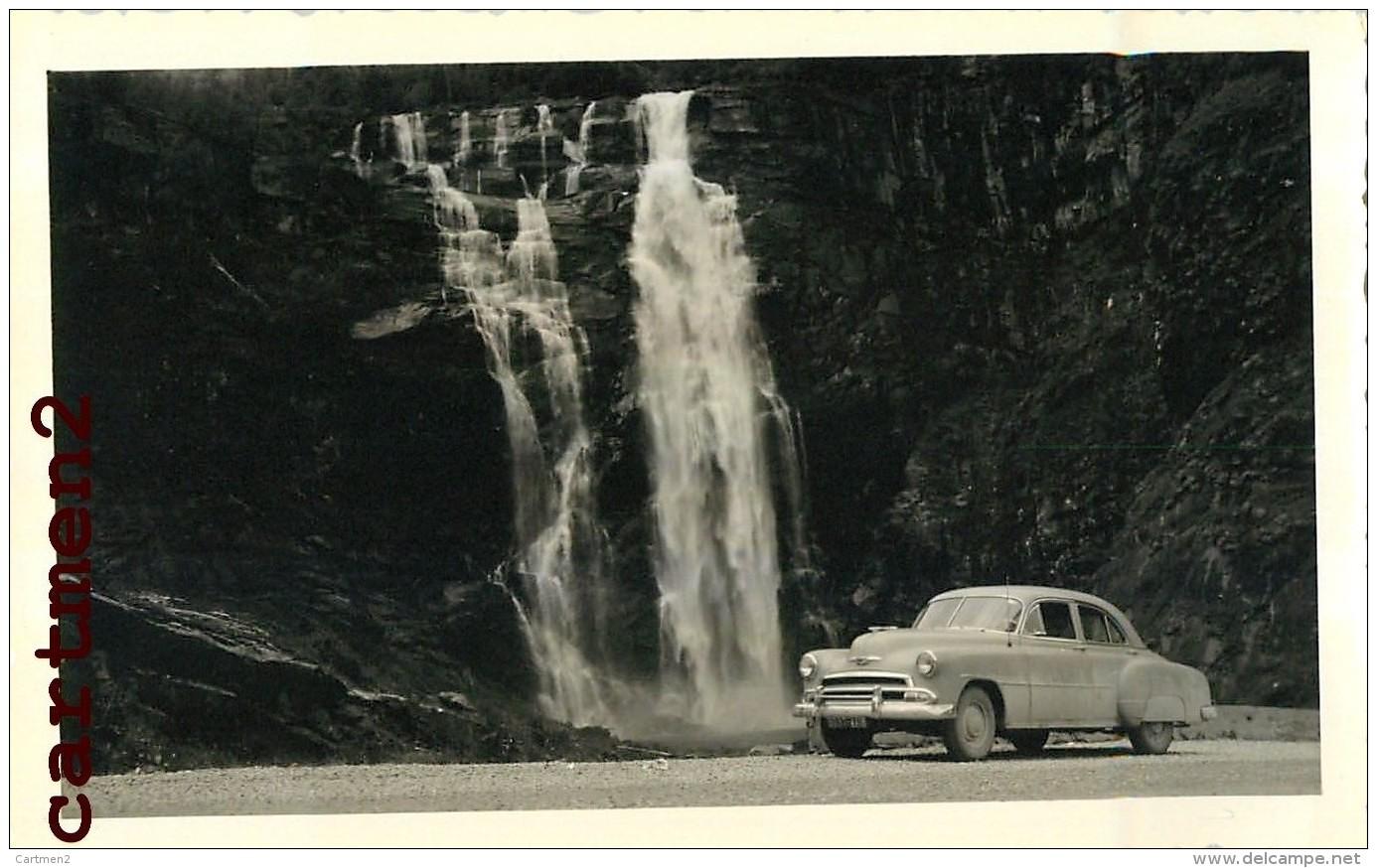 13 PHOTOGRAPHIES ANCIENNES : NORVEGE NORWAY HARDANGE FJORD TELEMARK RJUKAN NARVIK ISLO AUTOMOBILE CAR - Noorwegen