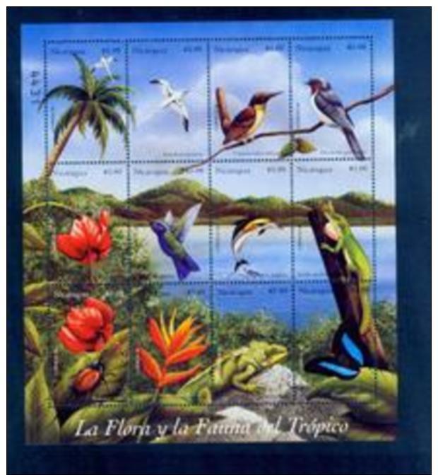 BOX-30 Nicaragua 1999 Souvenir Sheet MNH - Other