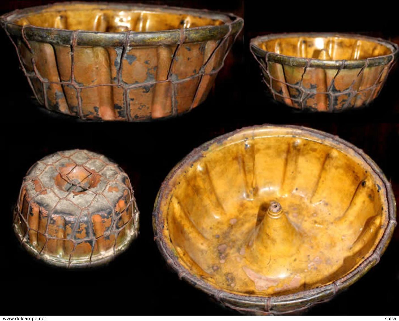 Ancienne Terre Cuite Vernissée Slovaque XIXème / Old Slovakian Clay Pot - Art Populaire