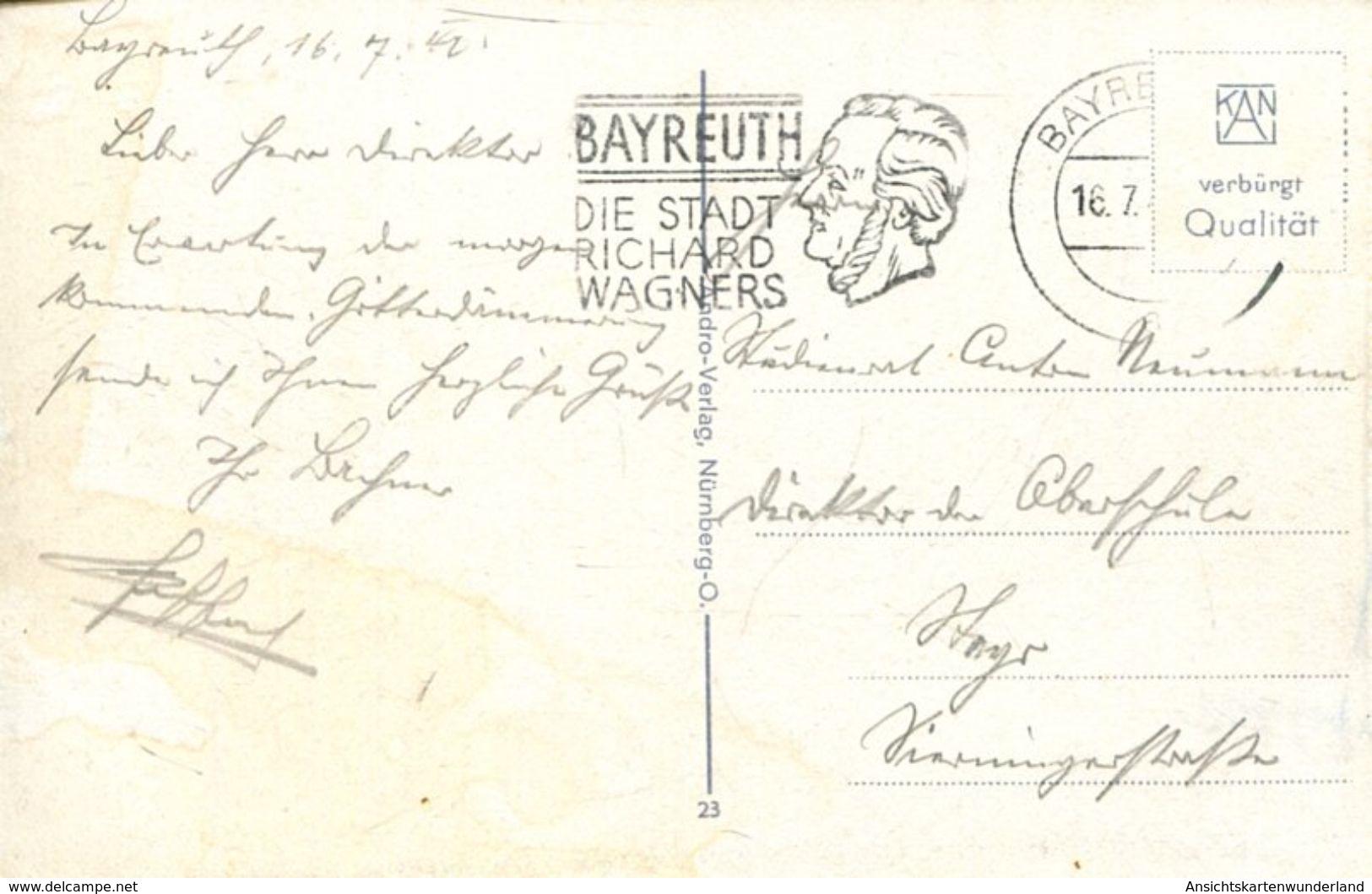 003252 Bayreuth - Opernhaus 1940 - Bayreuth