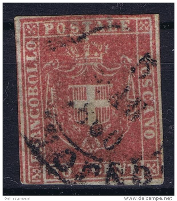 Toscana Sa 21 Mi 21 Used Obl. 1860 - Toscana