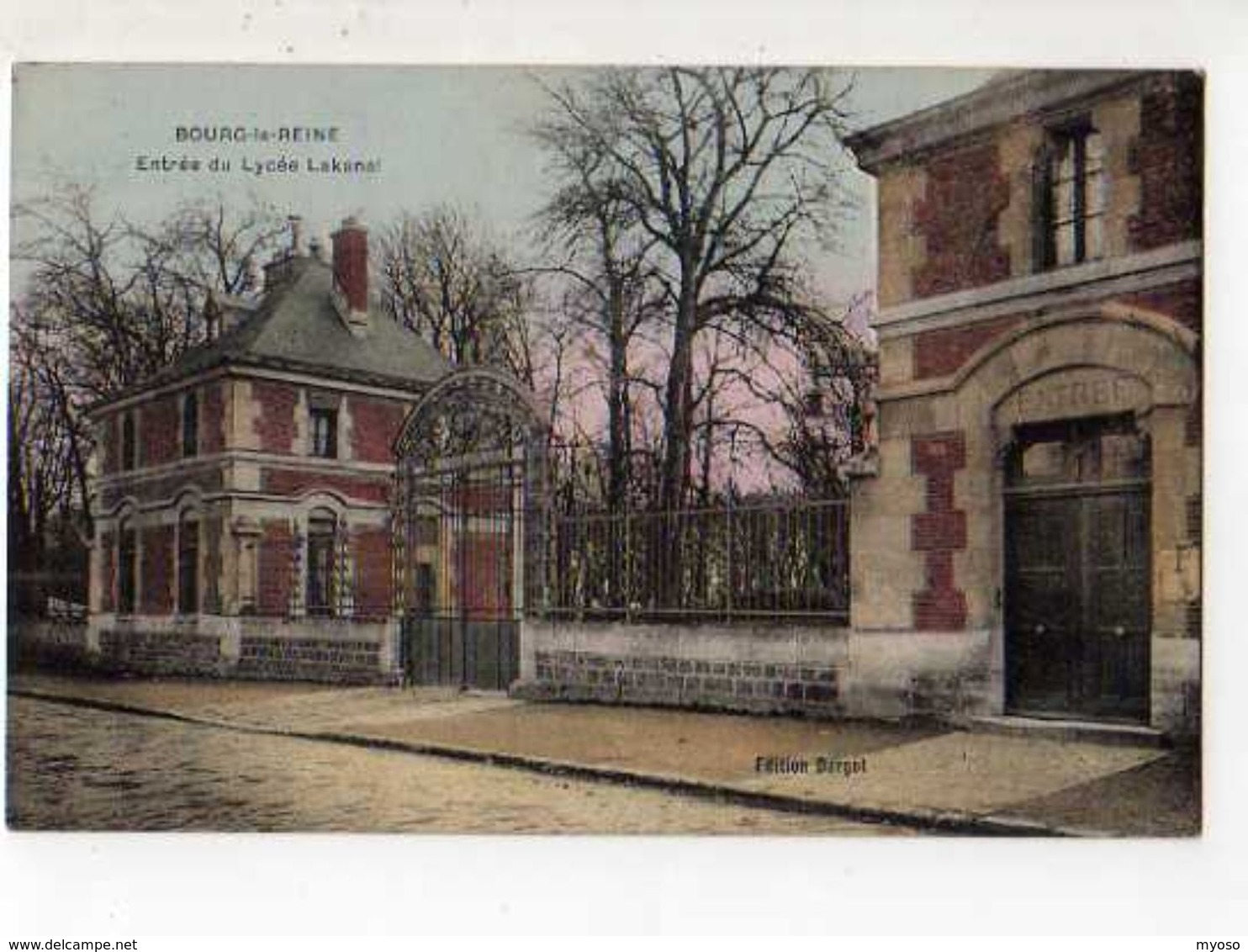 92 BOURG LA REINE Entree Du Lycee Lakanal - Bourg La Reine