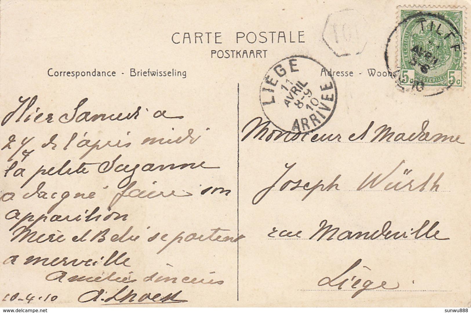 Tilff - Rue Du Fond Du Moulin (top Animation, Fanfare, 1910) - Esneux