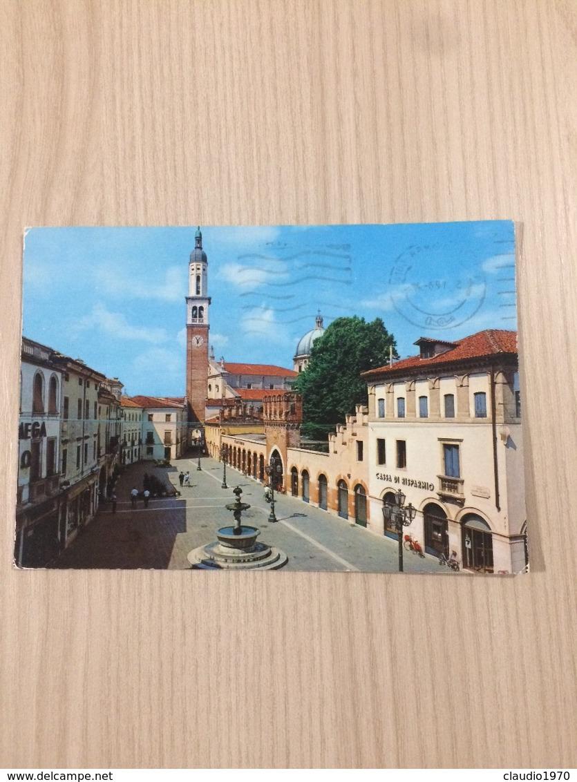 Cartolina-Vicenza-Thiene-Piazza Chilesotti - Vicenza