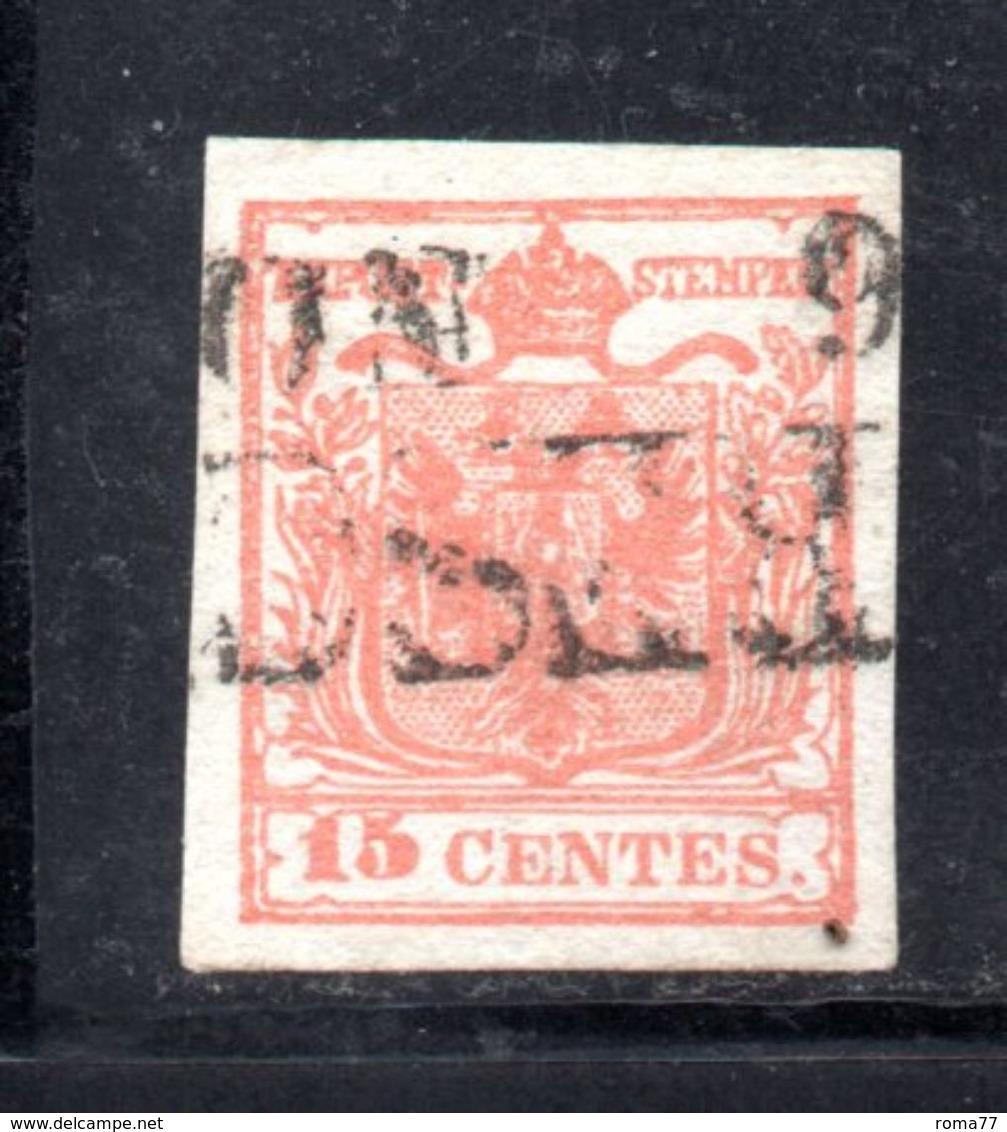 ASI4c - LOMBARDO VENETO , Il 15 Cent  Usato. - Lombardo-Veneto