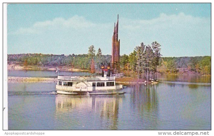 Georgia Stone Mountain Paddlewheel Steam Boat Robert E Lee
