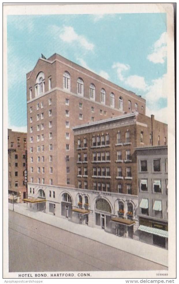 Connecticut Hartford Hotel Bond Curteich