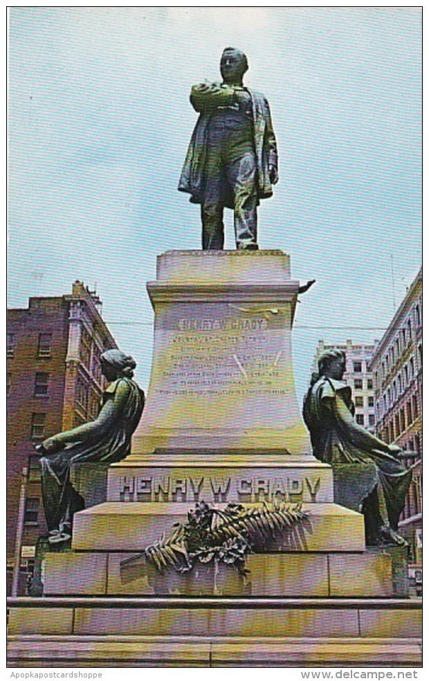 Georgia Atlanta Henry Grady Monument