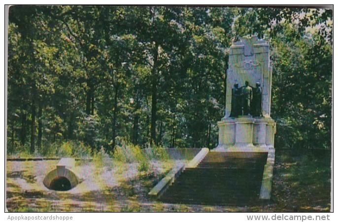 Georgia Marietta Illinois Monument At CHeatham Hill