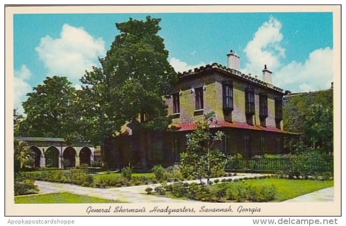 Georgia Savannah General Sherman's Headquarters