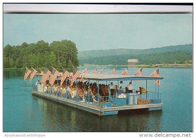 Georgia Pine Mountain Callaway Gardens Cleopatra's Barge 1972