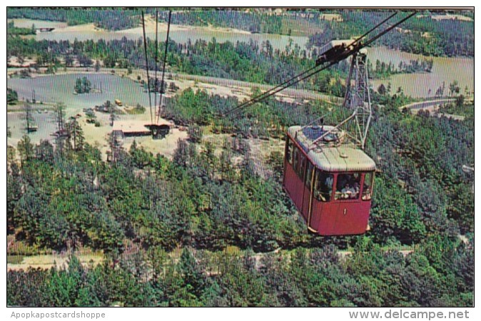 Georgia Stone Mountain Aerial Cableway 1967