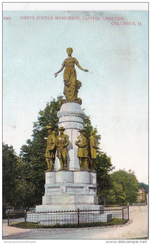 Ohio Columbus Ohio's Jewels Monument Capitol Grounds