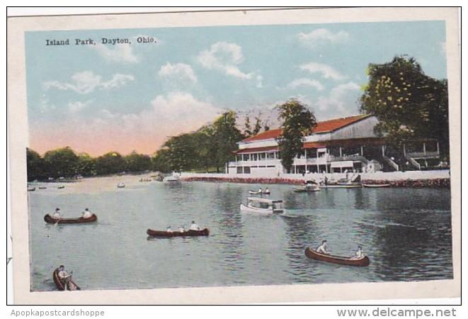 Ohio Dayton Canoeing At Island Park