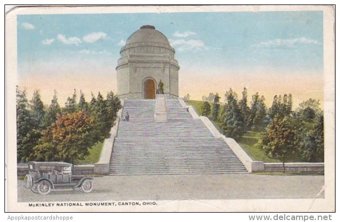 Ohio Canton McKinley National Monument 1917 Curteich