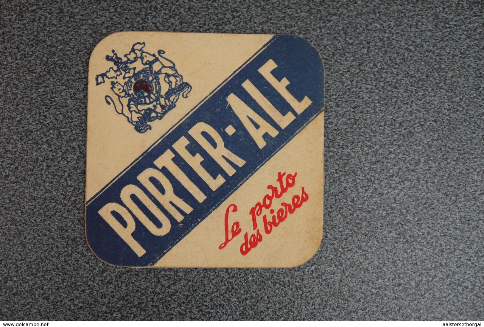 Bier Viltje Sous Bock 1941 Porter Ale - Sous-bocks