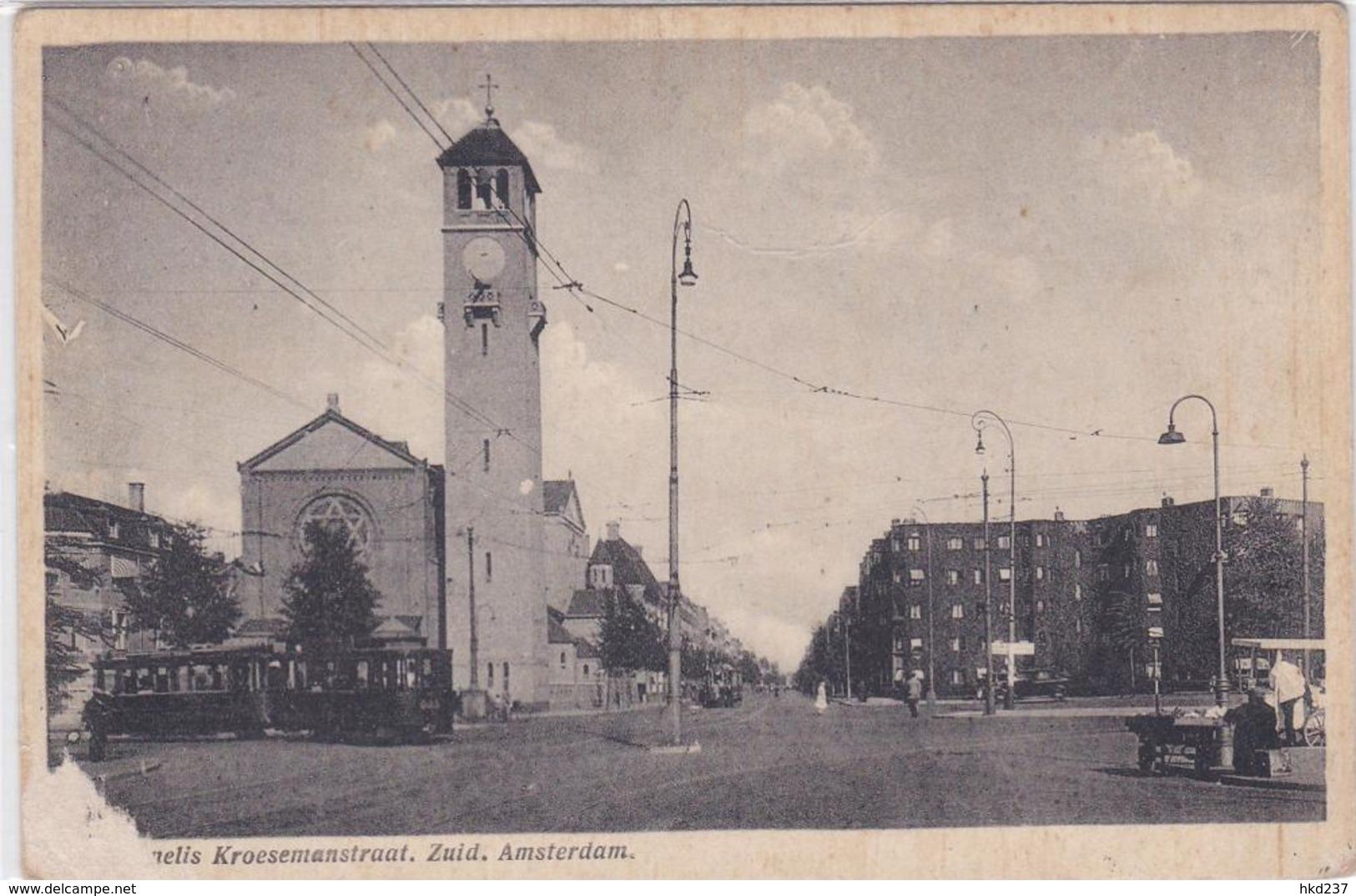 Amsterdam Cornelis Krusemanstraat Haringventer Trams ± 1932     1249 - Amsterdam