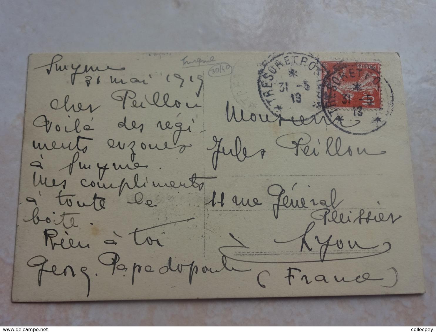 Carte Photo TURQUIE SMYRNE Débarquement Des Troupes Helleniques Mai 1919 - GRECE - Turquie