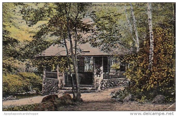 Massachusetts Brockton Spring House Highland Park