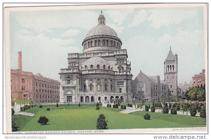 Massachusetts Boston Christian Science Church Detroit Publishing