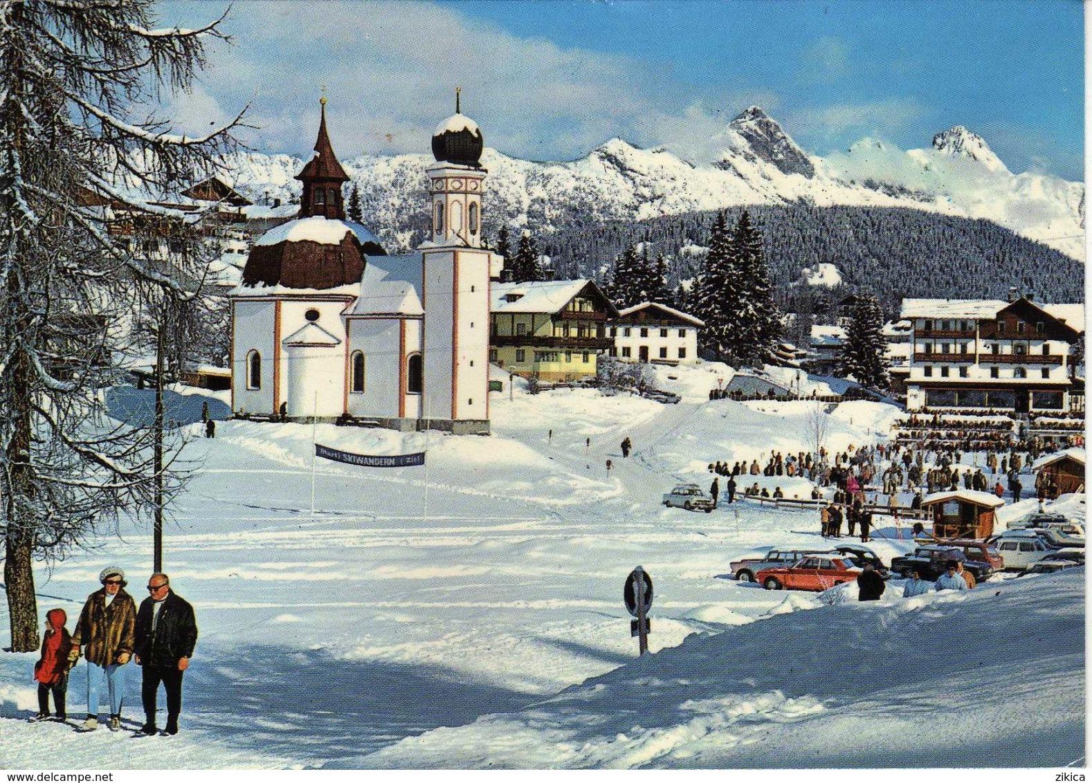 Seefeld - Seekirchlein ( Barock ) Und Hotel Wetterstein - Tirol - Austria - Hotels & Gaststätten