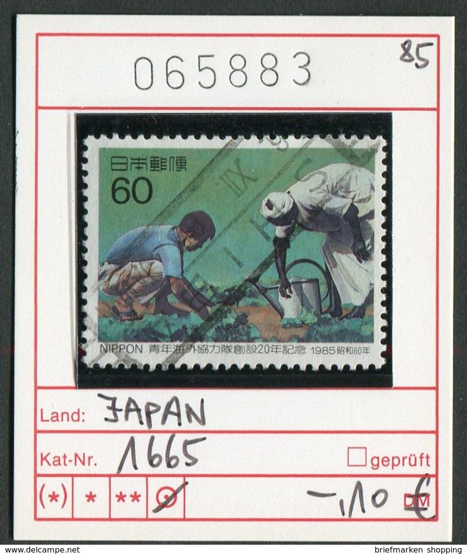 Japan - Japon - Nippon - Michel 1665 - Oo Oblit. Used Gebruikt - 1926-89 Emperor Hirohito (Showa Era)