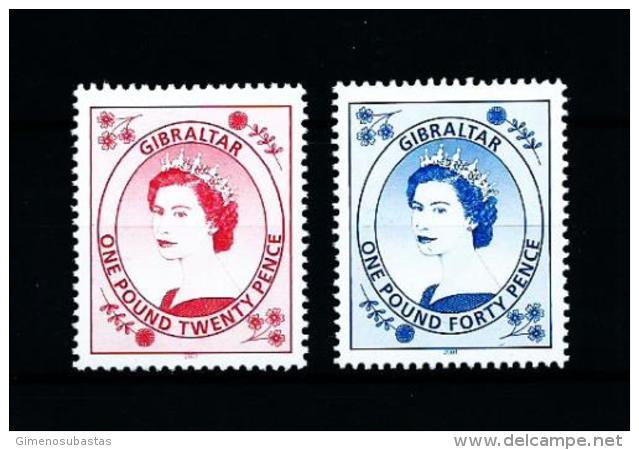 Gibraltar  Nº Yvert  977/8  En Nuevo - Gibraltar