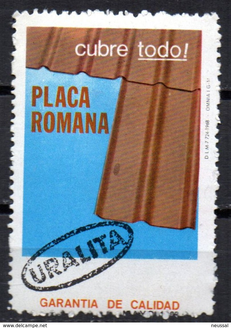 Viñeta De Placa Romana - España