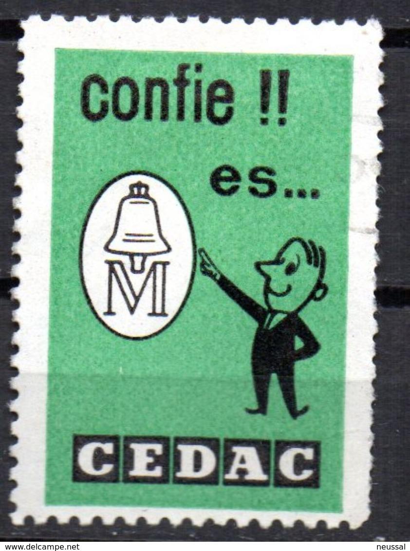 Viñeta De Confie En Cedac. - España