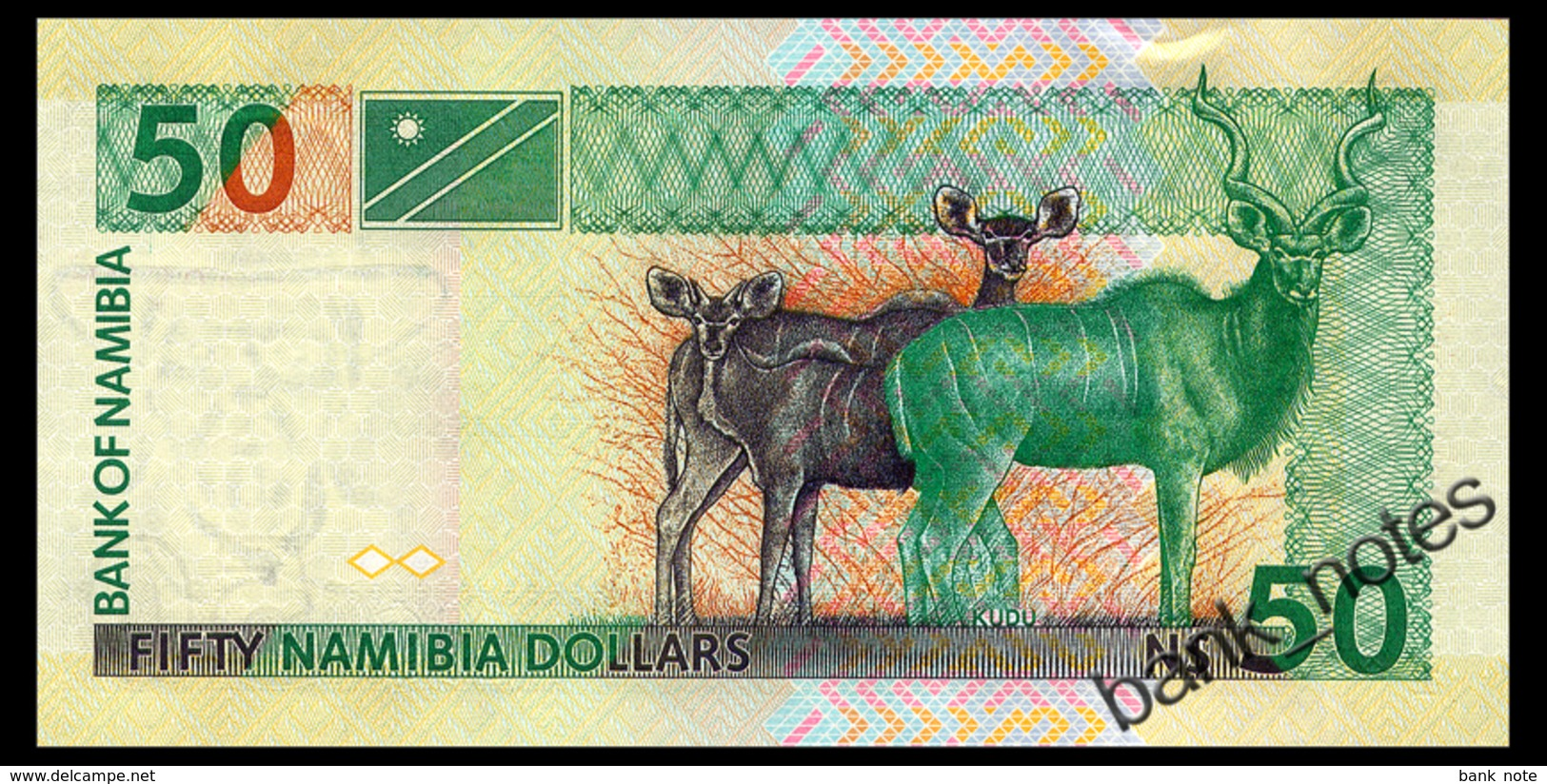 NAMIBIA 50 DOLLARS ND(2003) Pick 8a Unc - Namibia