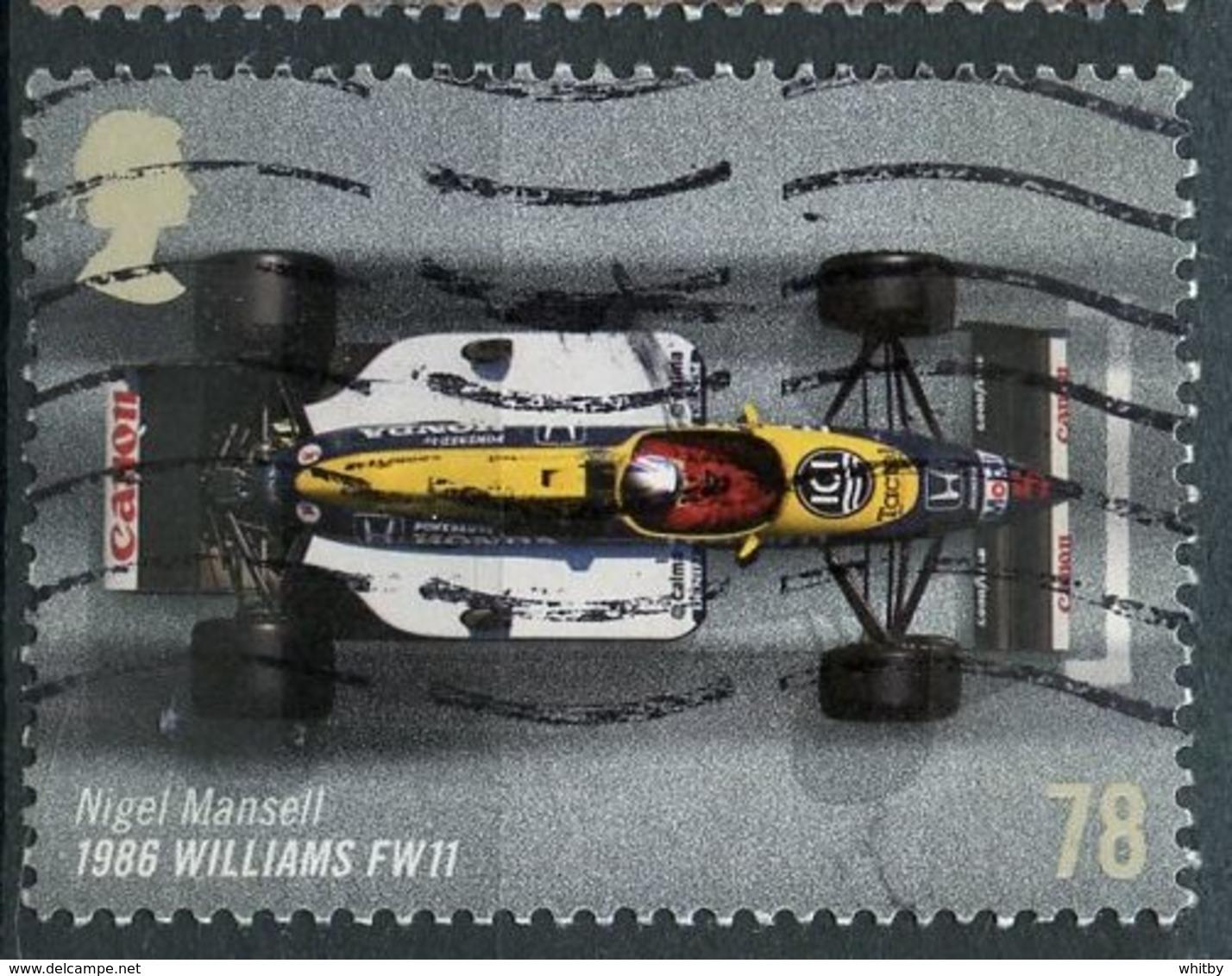 Great Britain 2007 78p Race Car Issue #2478 - 1952-.... (Elizabeth II)