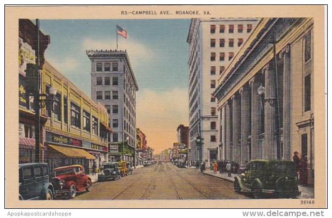 Virginia Roanoke Campbell Avenue