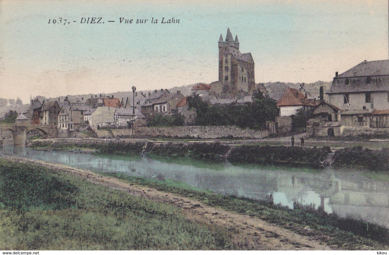 DIEZ - Vue Sur La Lahn (Blick Auf Den Lahn) - - Diez