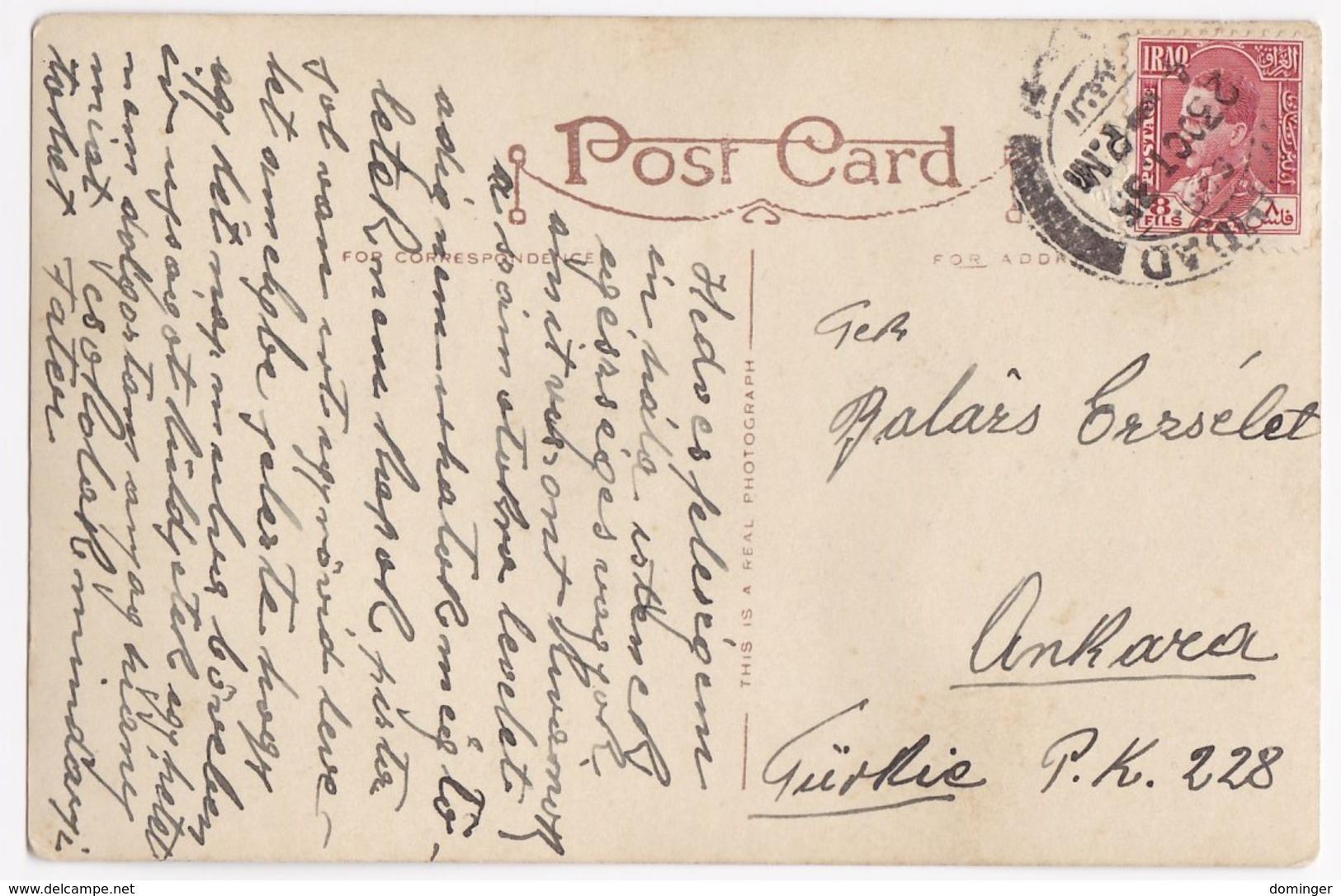 Old Postcard Iraq Mecca - Irak