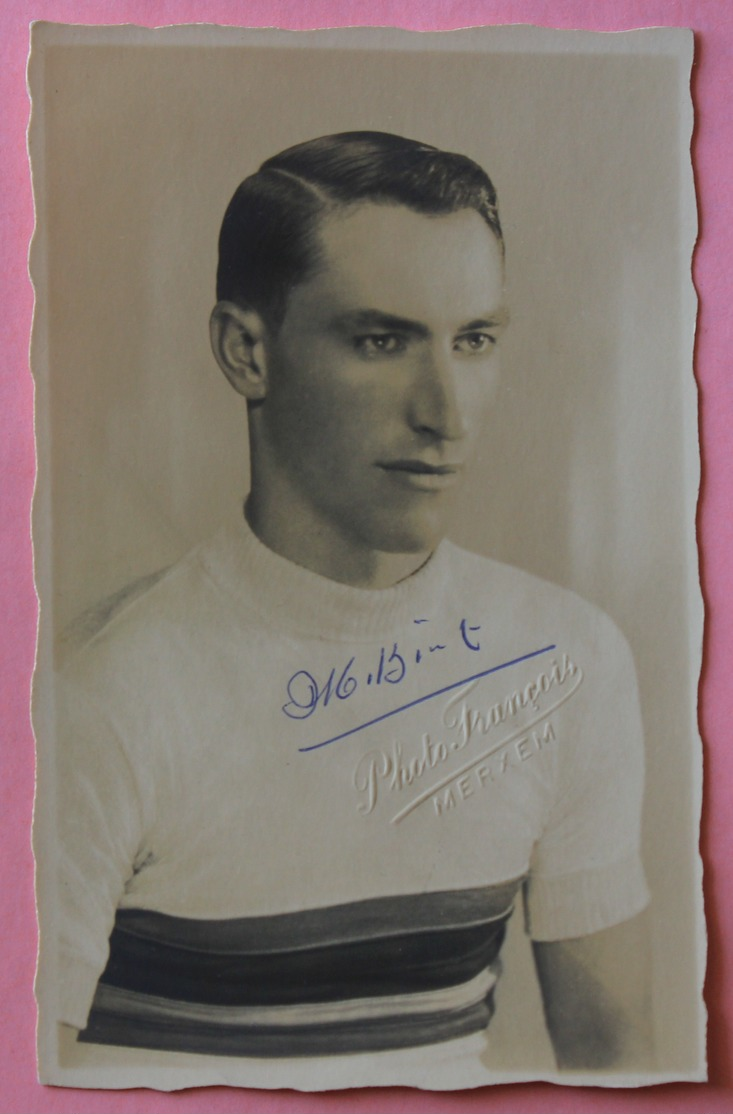 CYCLISME  : Marcel Kint , Champion Du Monde Avec Dédicace  SUPERBE - Cycling