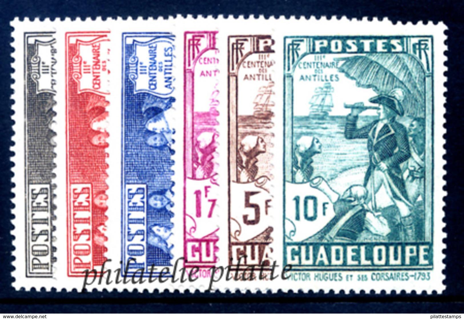 1935* Tricentenaire Des Antilles 18 Valeurs - France (ex-colonies & Protectorats)