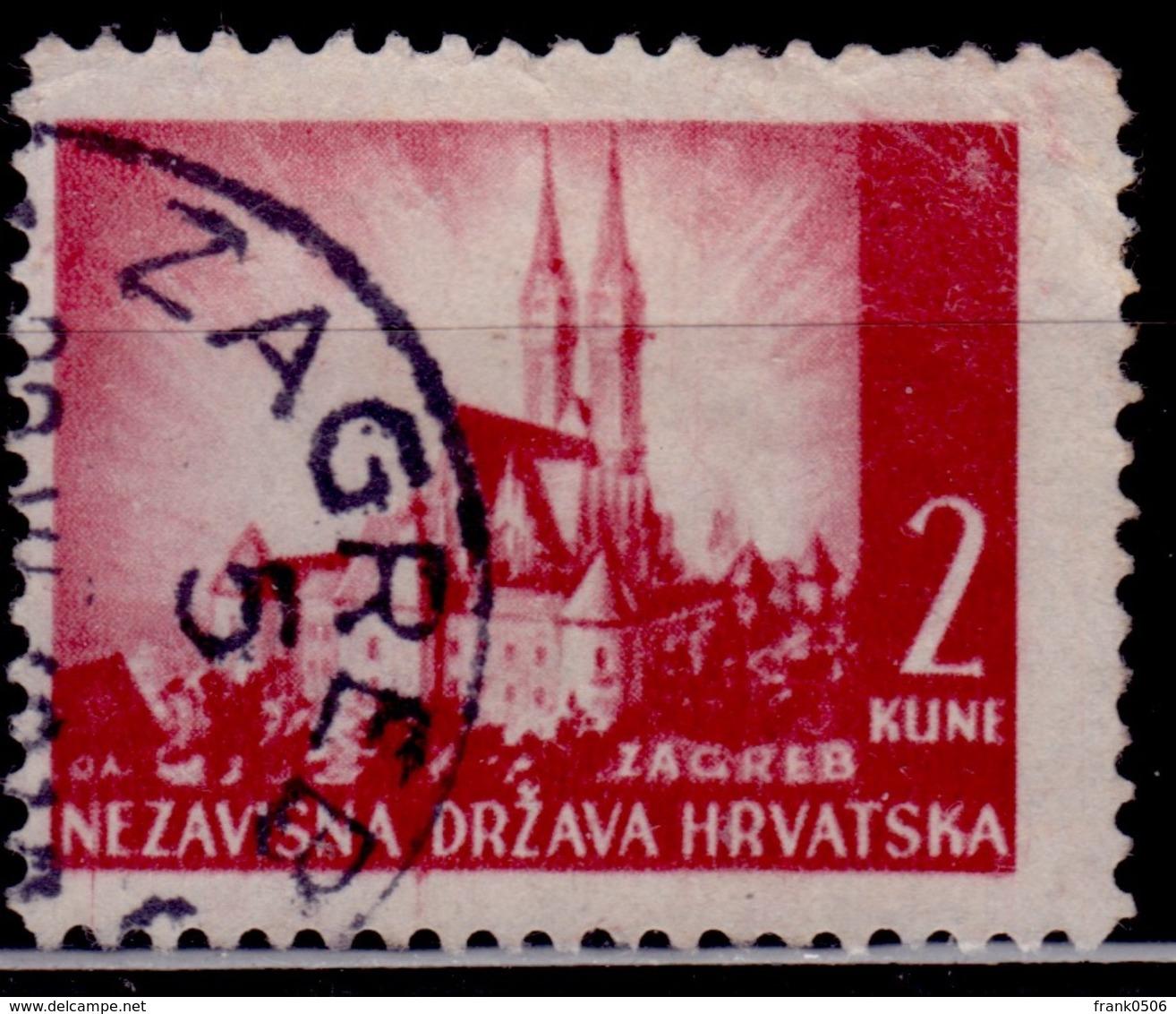 Croatia, 1941, Castle, Sc#35, Used - Croatia