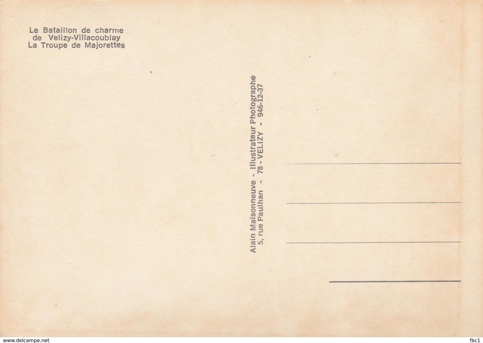 CPSM - 78 - Velizy Villacoublay - La Troupe De Majorettes - Velizy