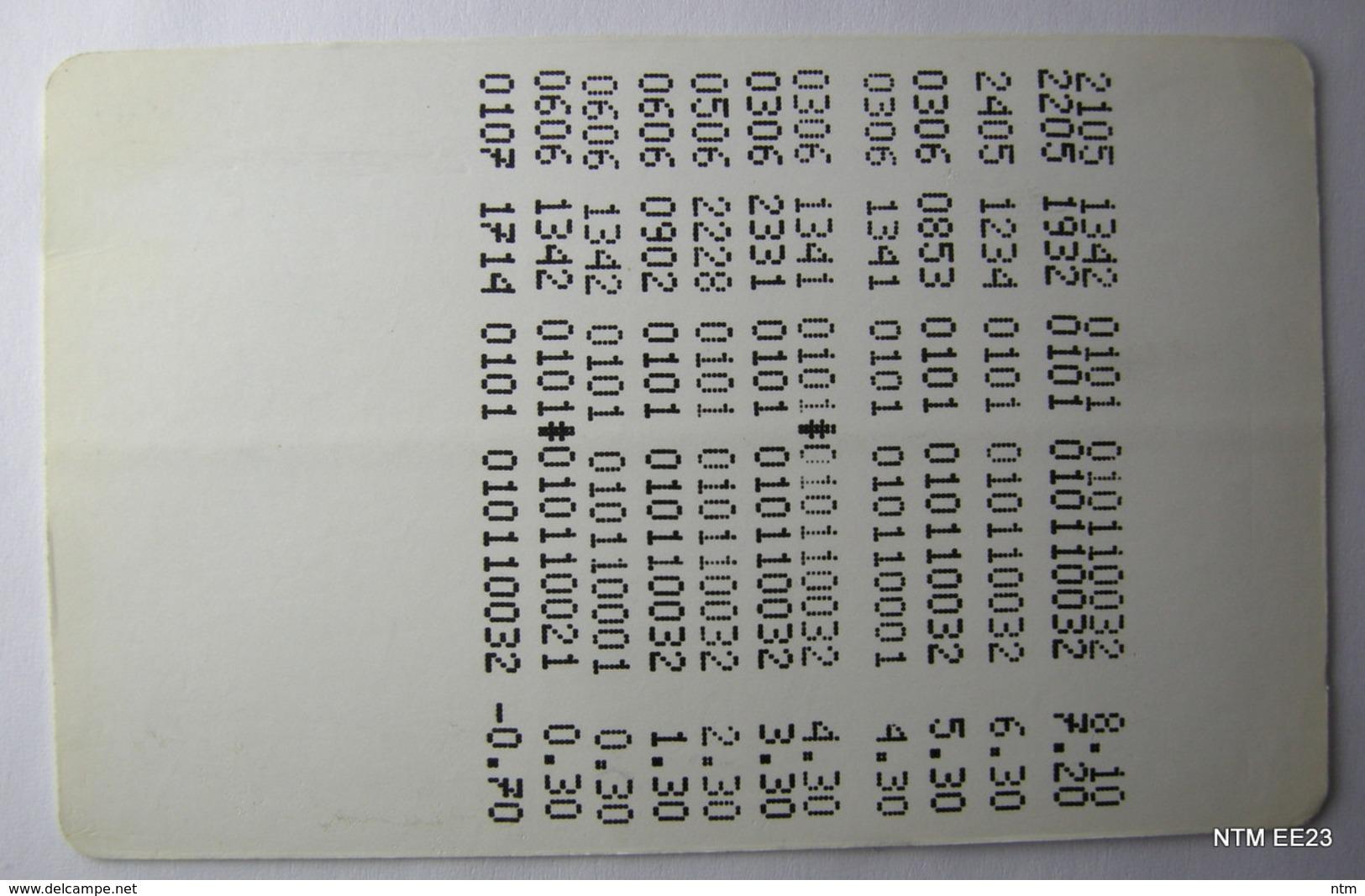 BELGIUM DeLijn Bus Cards X 4 (Used). - Transportation Tickets