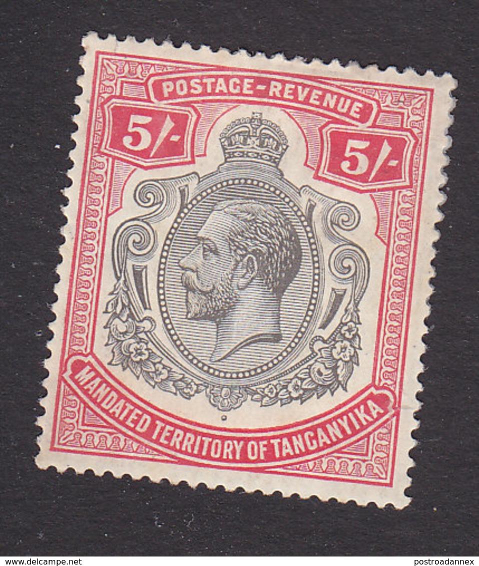 Tanganyika, Scott #42, Mint Hinged, George V, Issued 1927 - Tanganyika (...-1932)