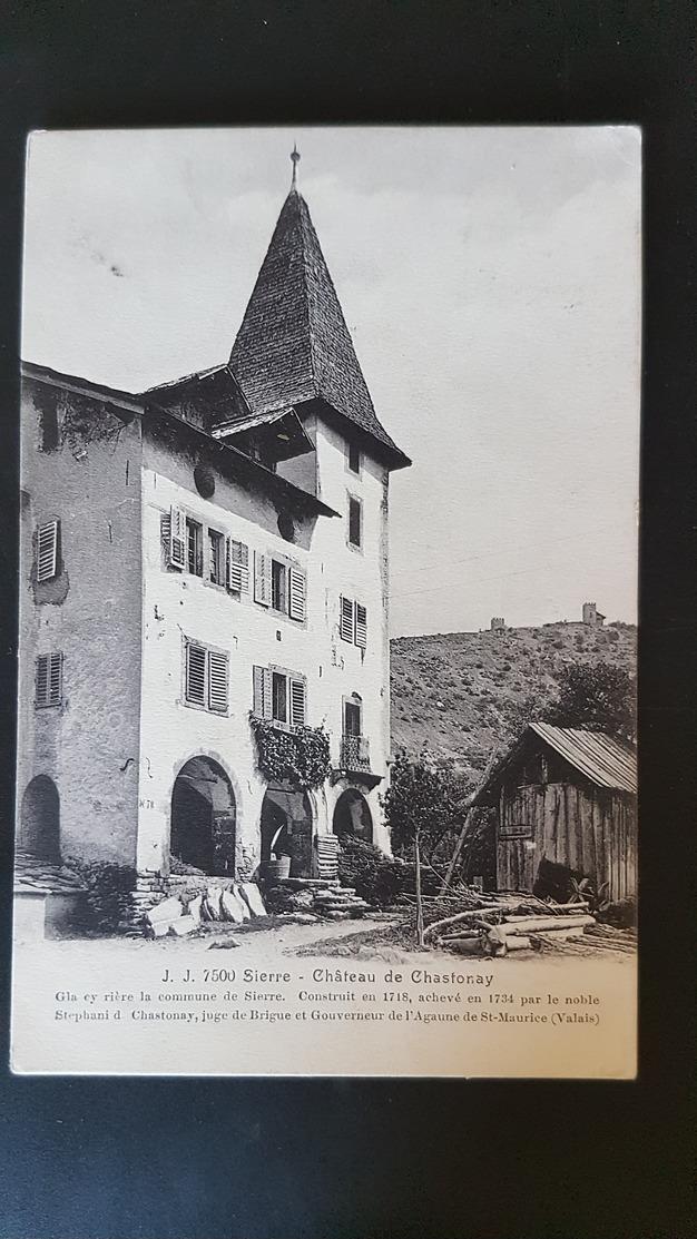 Sierre - Chateau De Chastonay - VS Valais