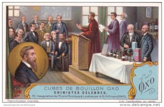 Liebig S1223 Famous Chemists No 6 Inauguration de l'Ecole Chimiq