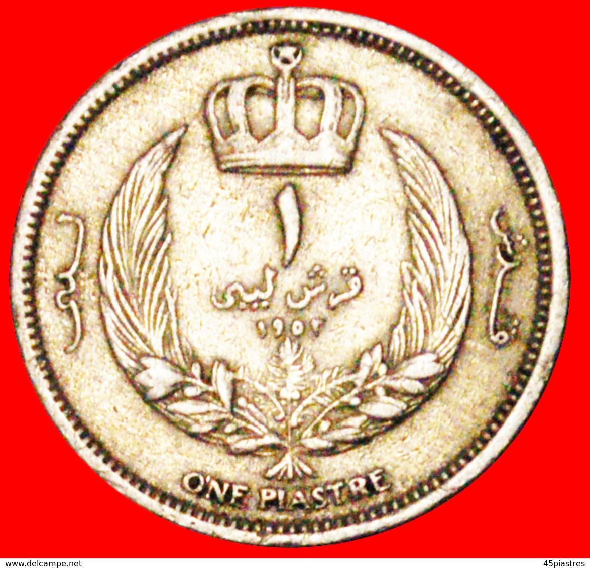 √ GREAT BRITAIN* KINGDOM LIBYA ★ 1 PIASTRE 1952! LOW START ★ NO RESERVE! - Libye