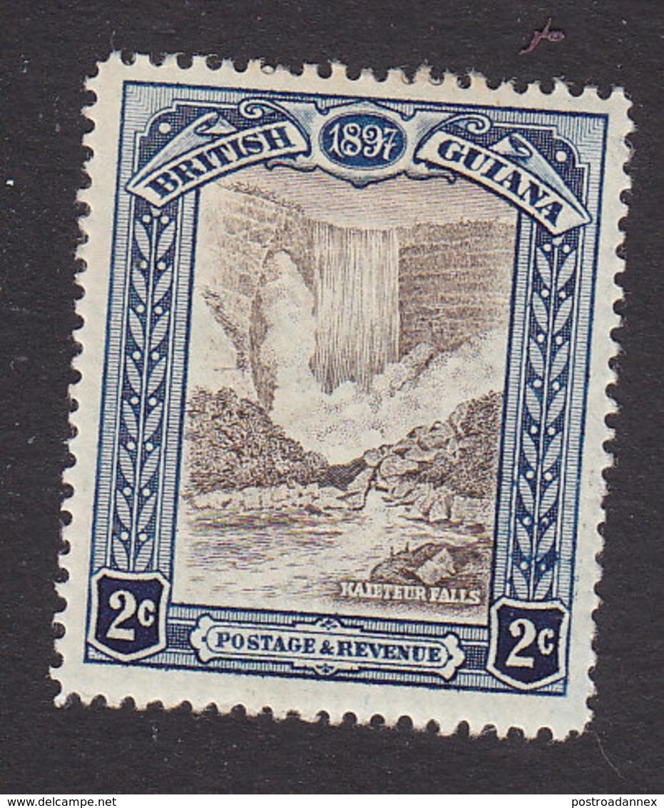 British Guiana, Scott #153, Mint Hinged, Kaieteru Falls, Issued 1898 - British Guiana (...-1966)