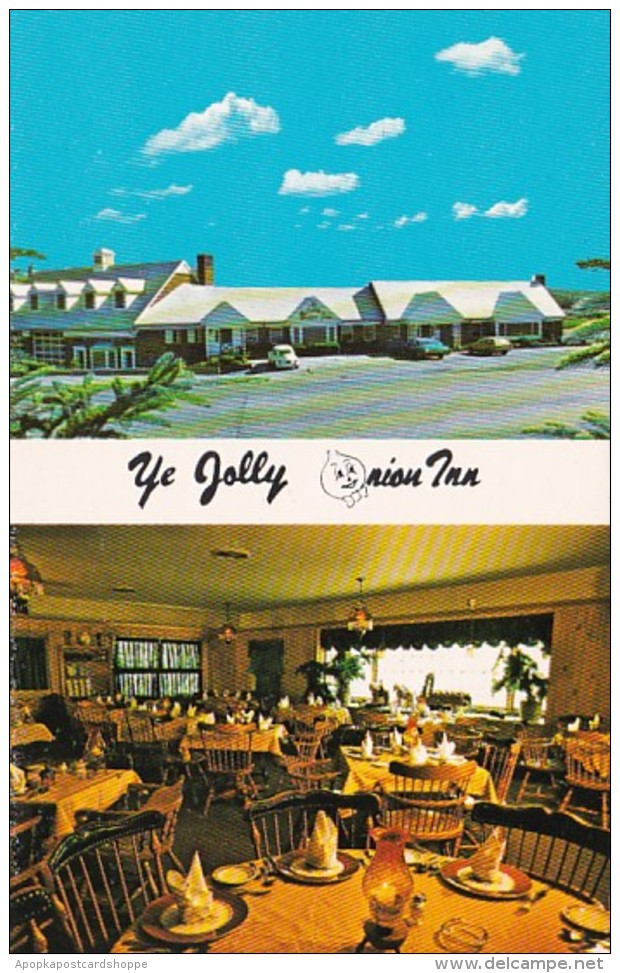 New York Pine Island Ye Jolly Onion Inn 1983