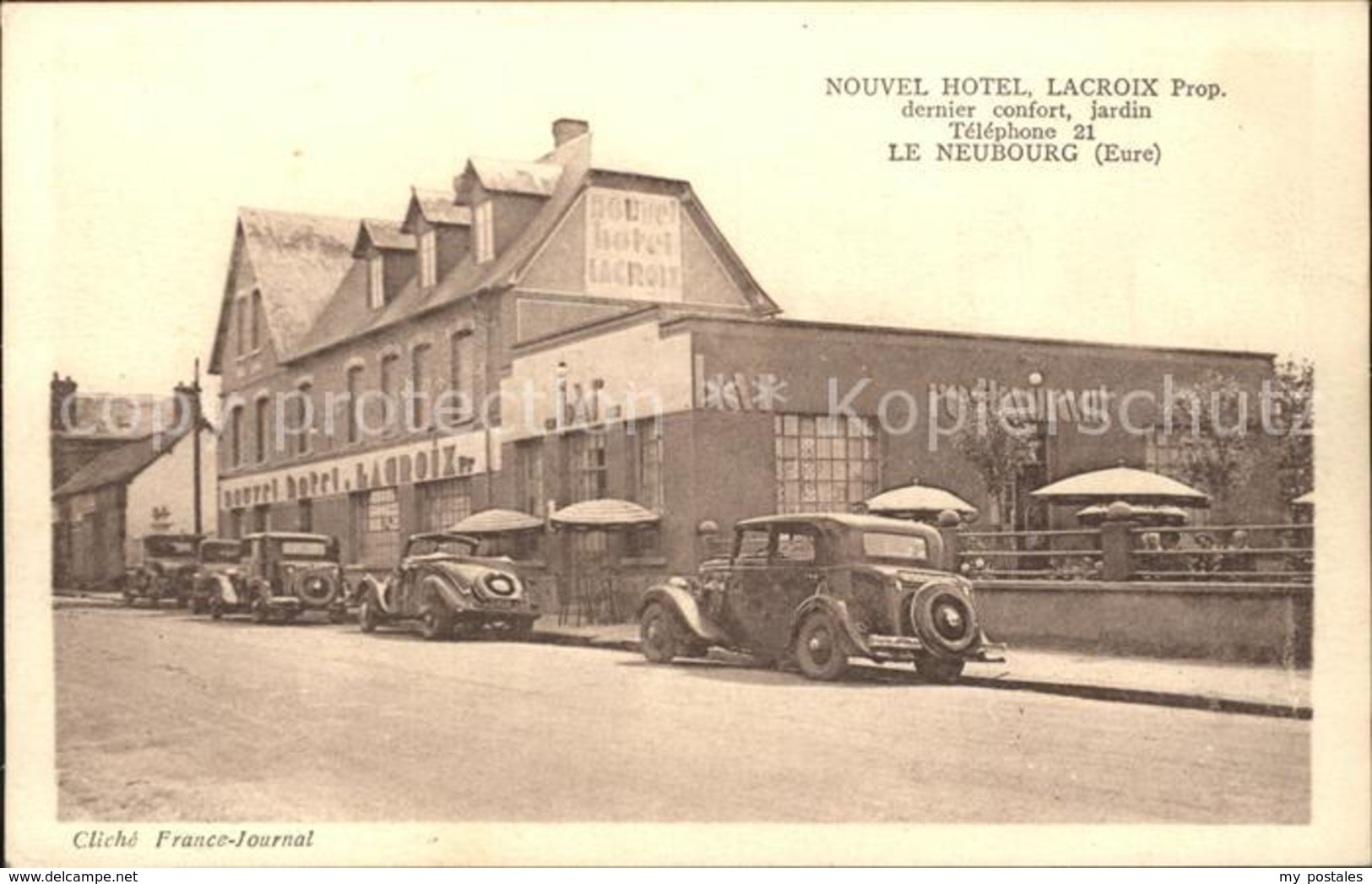 11919491 Le Neubourg Nouvel Hotel Le Neubourg - Le Neubourg